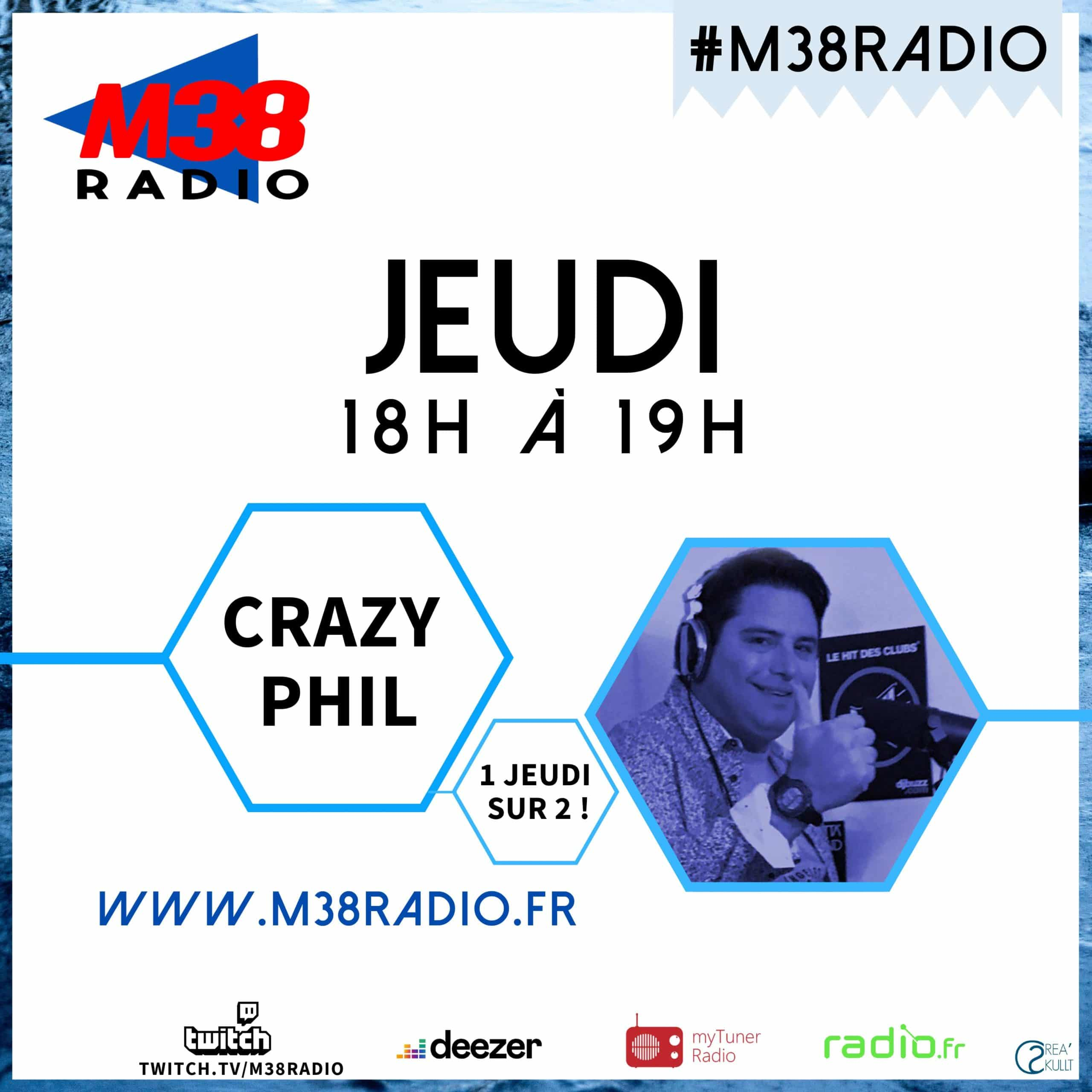 CRAZY PHIL / M38 RADIO