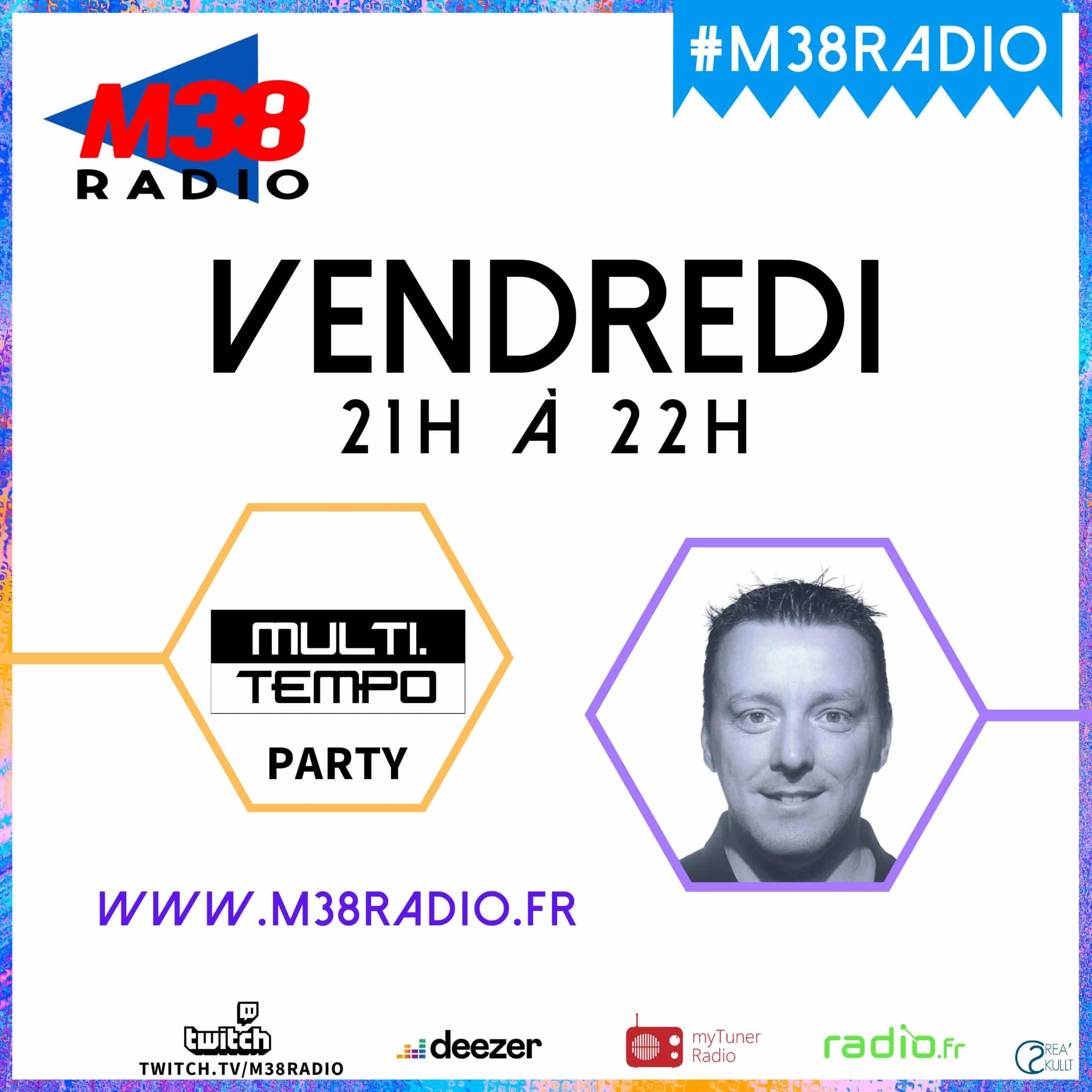 MULTITEMPO PARTY SUR M38 RADIO