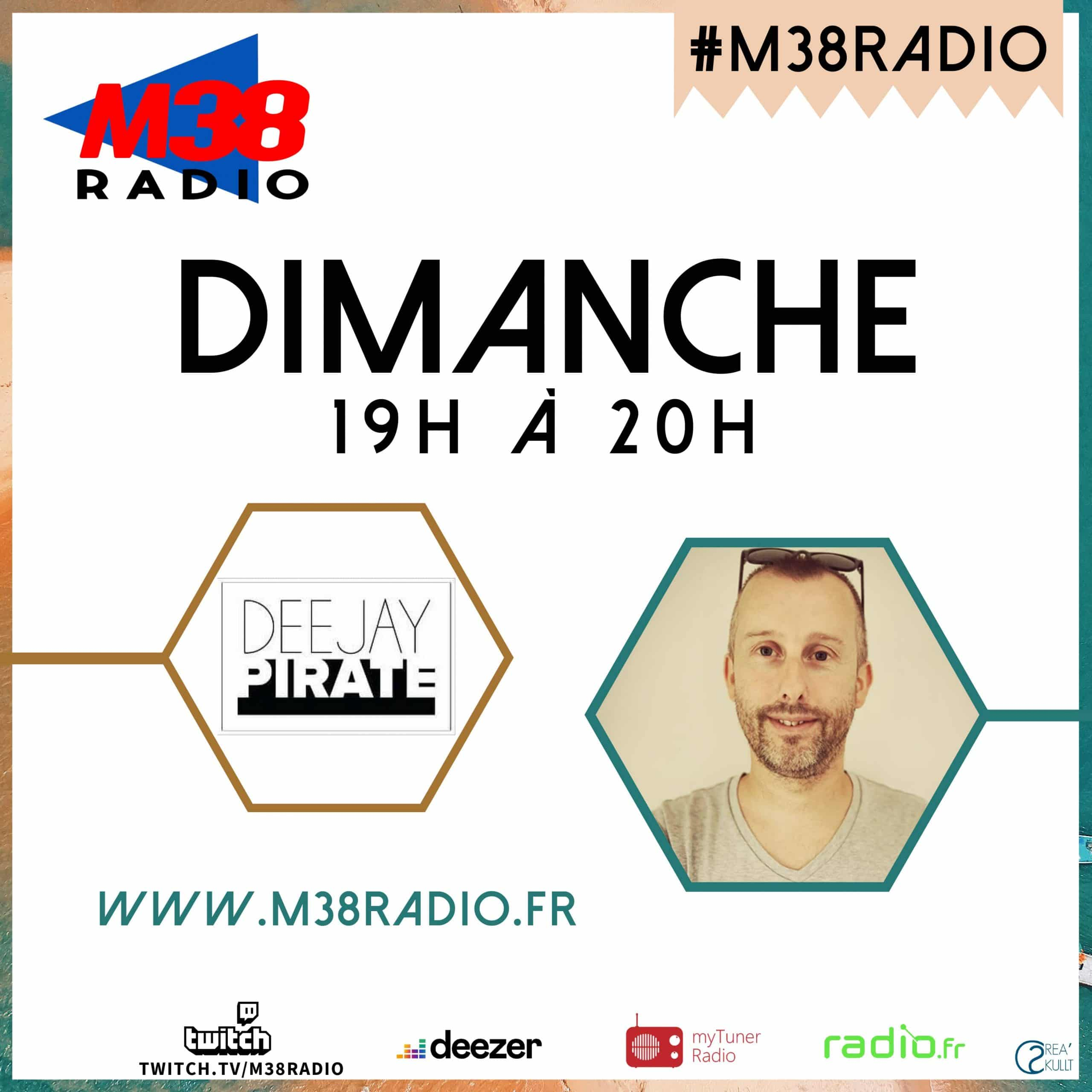Dj pirate sur M38 RADIO